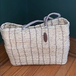 Old Navy Wicker Tote